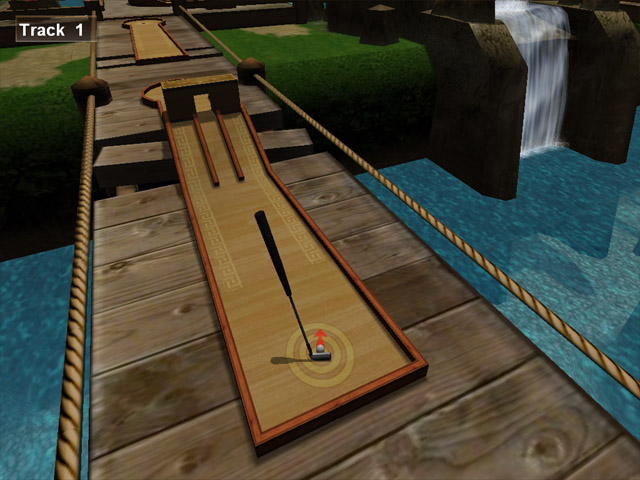 Mini Golf Championship is a real 3D simulator of the same game. We tried to make