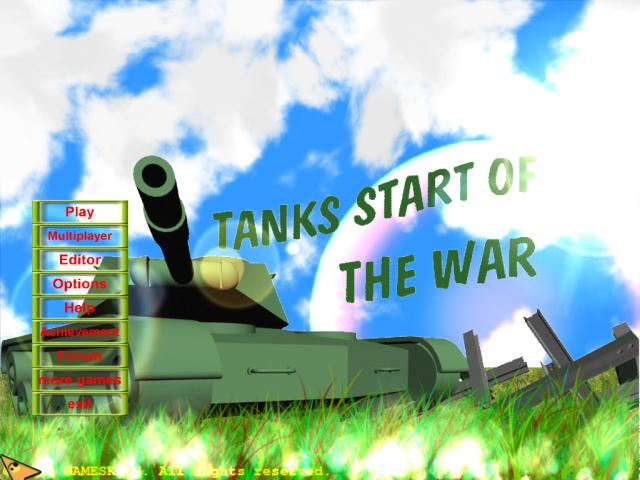 SoftFreeWay Tanks Start Of The War